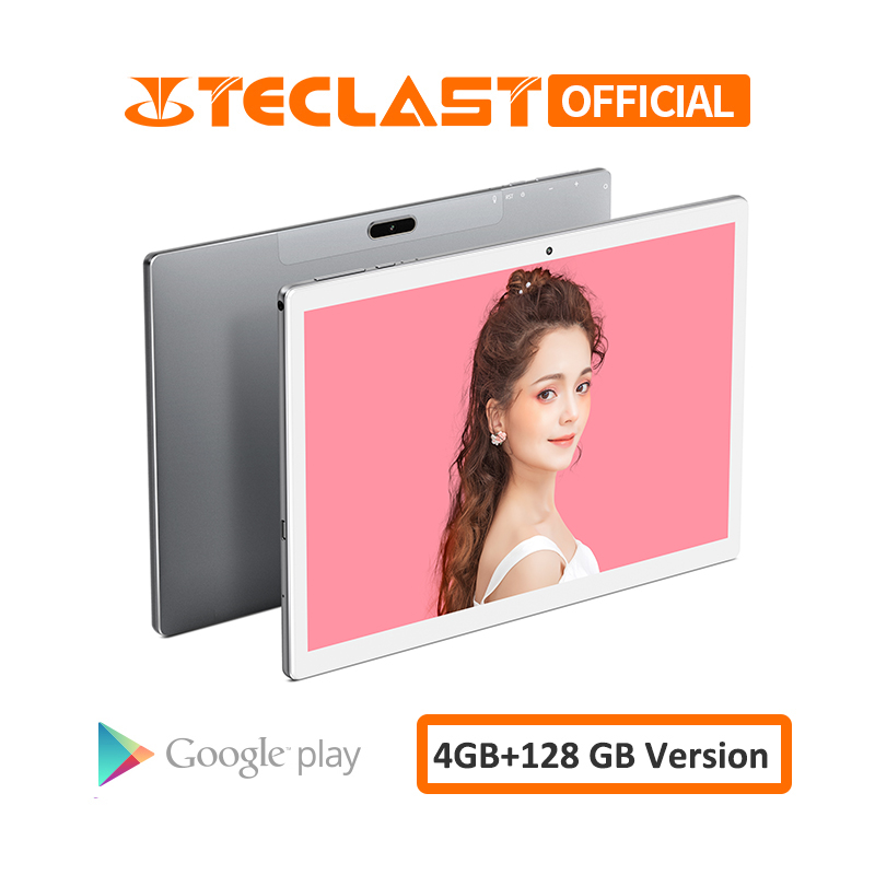 Teclast M30 10.1 Inch Tablet PC 2560 X 1600 MT6797 X27 Deca Core Android 8.0 4G Phone Tablet PC 4GB RAM 128GB ROM 7500mAh GPS
