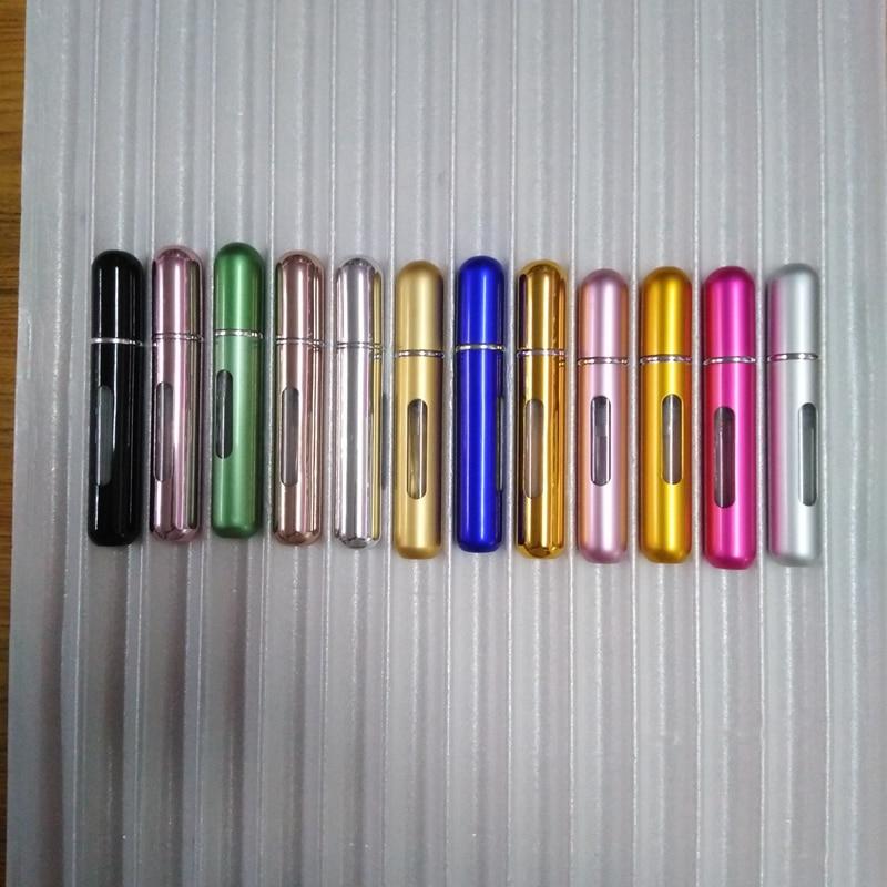 5 мл Путешествия многоразового Conveniet пустой парфюмерные флаконы с распылителем ароматизатор спрей случае parfum безвоздушный насос косметический контейнер