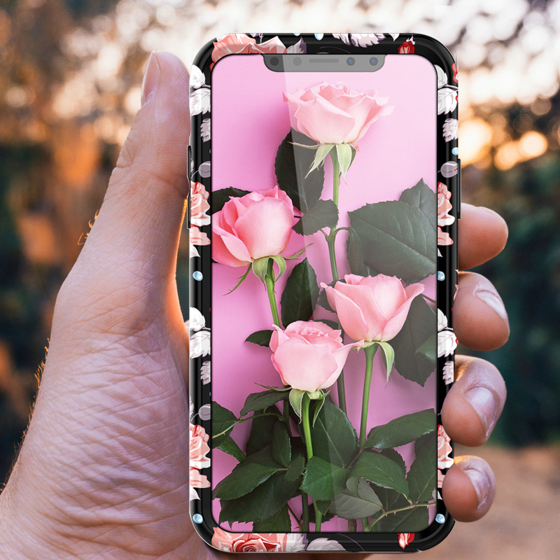 Hot Flower Mobile Case for iPhone Hard PC Cute Colorful