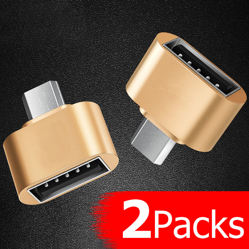 GETIHU OTG Micro USB  Adapter Type C Cable OTG Converter For Xiaomi Mi 9 8 Samsung S10 One Plus 6 Type-C Mouse USB Flash Drive