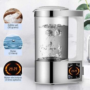 2L Hypochlorous Acid Water Disinfection Machine Maker Sodium Hypochlorous Generator Household Sterilization Liquid Maker