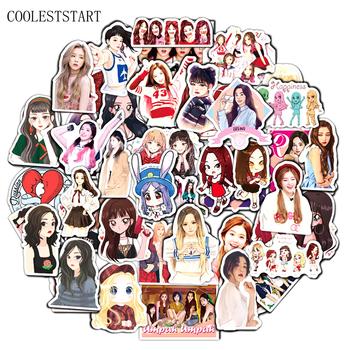 10 50 sztuk zestaw Red Velvet Korea Team śliczne naklejki na Case Laptop motocykl Skateboard bagaż naklejka zabawka dla dzieci kask Box tanie i dobre opinie COOLESTSTART CN (pochodzenie) 3-10cm none