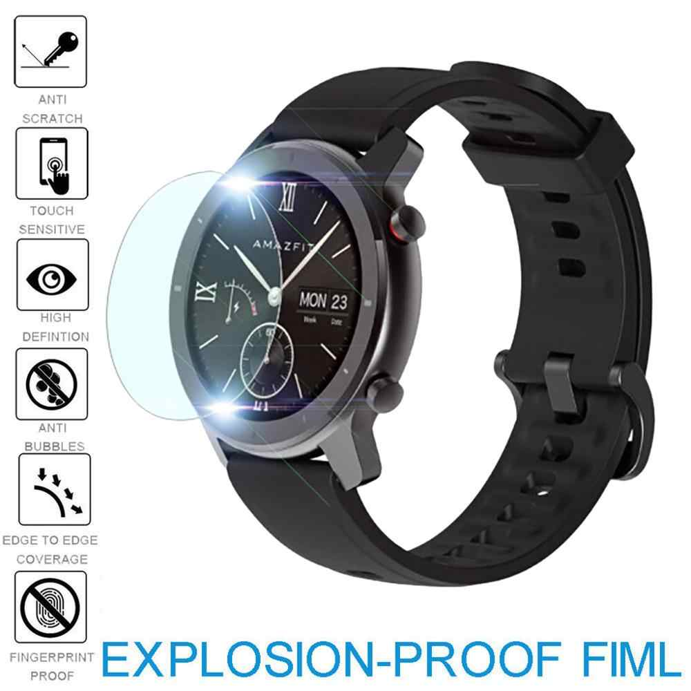 1pc  Explosion-proof TPU Screen Protector Film For AMAZFIT GTR Smart Watch 42/47mm Watch Protective accessories