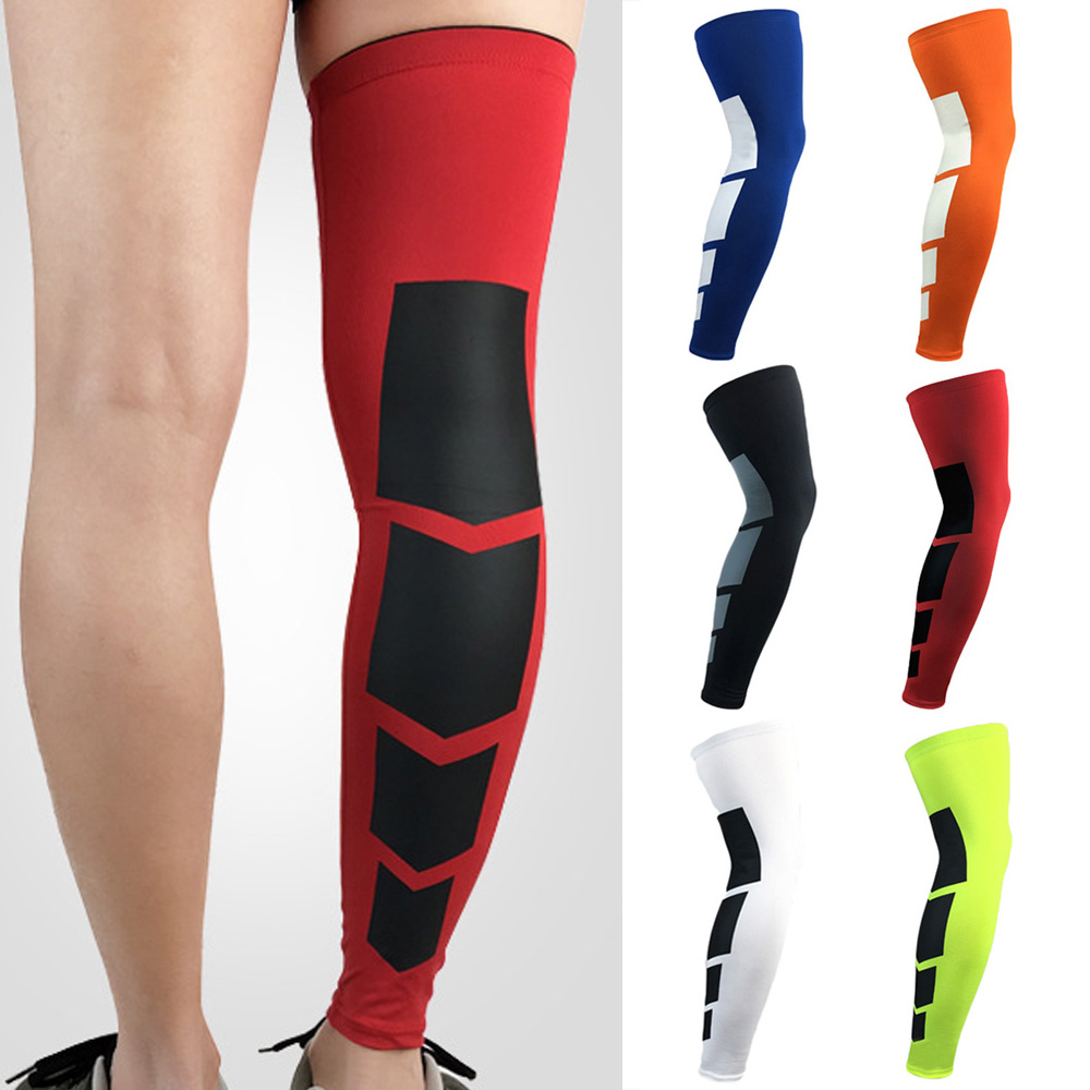 Sport Leg Sleeve Support Knee Pad Protective Gear Sports Running Basketball