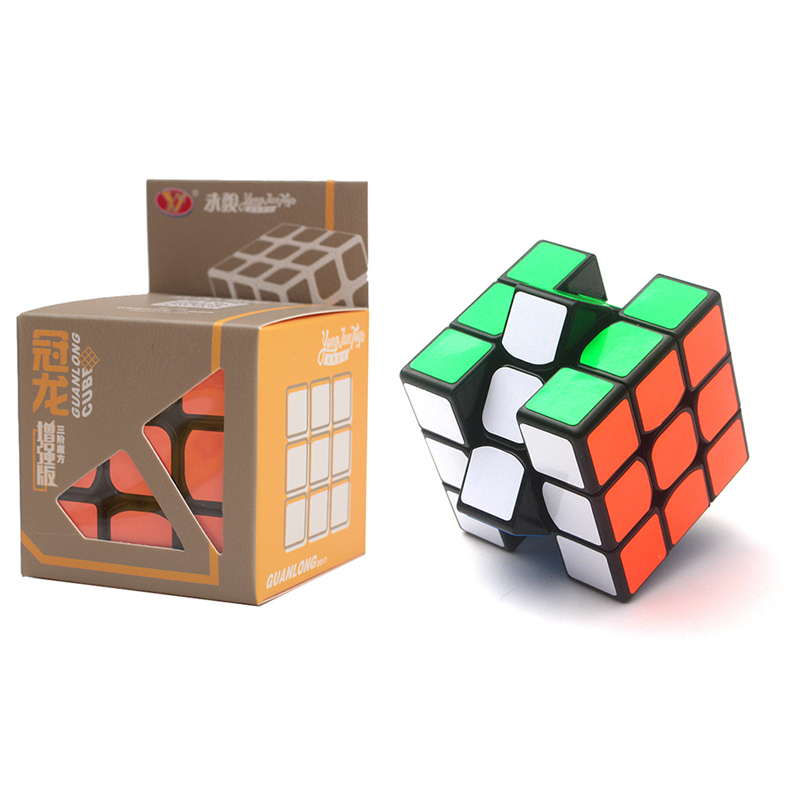 Yongjun GuanLong Enhanced Edition 3x3x3 Magic Cube Puzzle Toys For Challenge Toys For Children Kids Cubo Magico
