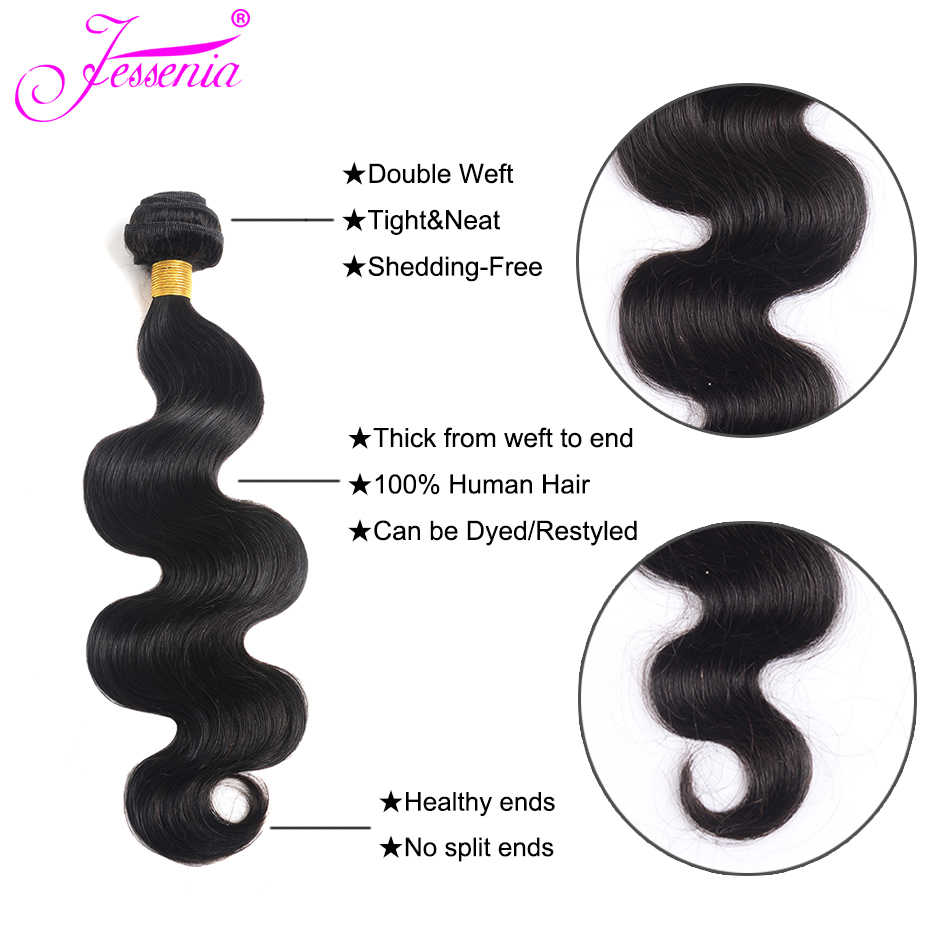 Body Wave Bundles Brazilian Hair Weave Bundles 100% Human Hair Bundles Natural Color Cheap Brazilian Body Wave 1/3/4 Bundles