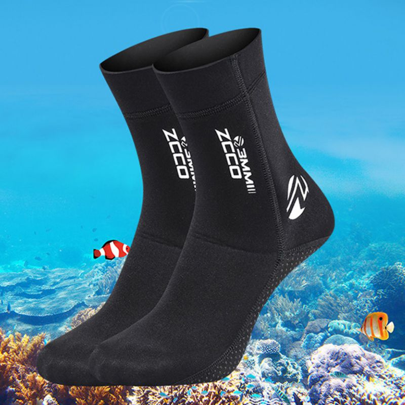3mm Non-slip Beach Boots Diving Suit Shoes Snorkeling Diving Socks Surfing Boots Socks Boots Water Shoes Tools