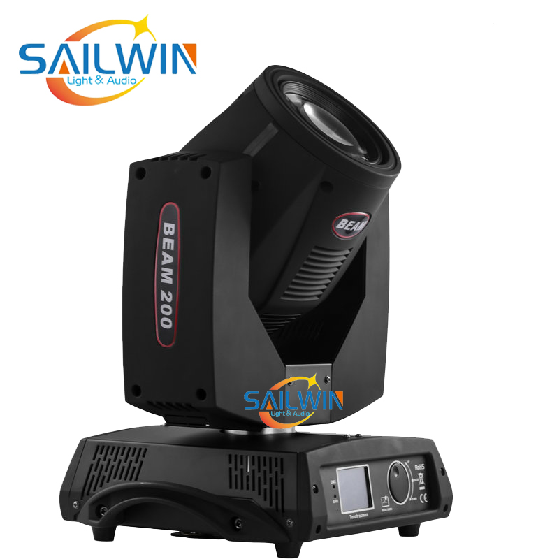 SAILWIN LIGHT Stock Lyre 7R 230W Sharpy Moving Head Beam Light Stage Moving Head Light DMX Stage Lighting With Static Gobos