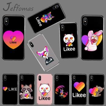 Le gusta de gato de dibujos animados animales recién llegado negro Funda para Teléfono Celular para iphone 4 4s 5 5s 5c se 6 6s 7 8 plus x xs x xr 11 pro max