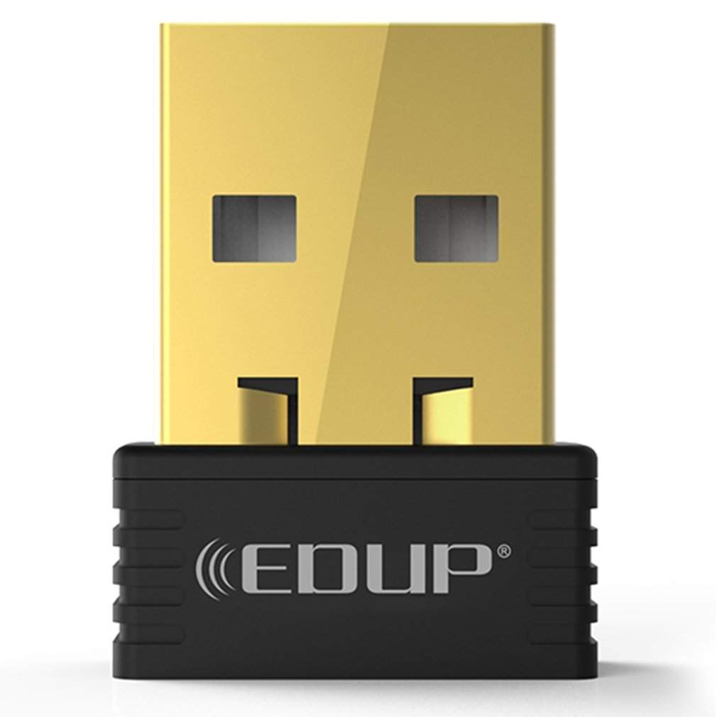 EDUP 150Mbps Mini USB Wifi Dongle Receiver Wireless 802.11 N/g/b Ethernet Adapter Network Card For Windows For Mac PC