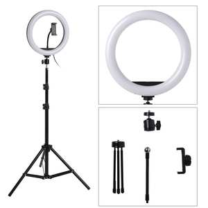 Ring-Fill-Light Stand-Tripod Phone-Ring-Lamp Selfie-Stick Dimmable-Camera Makeup Video
