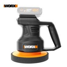 Worx 20V Electric Car Polisher Machine WX858.9 Variable Speed Auto Polishing Machine 3800rpm 178mm Car Polisher Waxing Tools