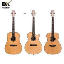 Professional Acoustic guitar All Solid Wood Spruce top 40 41 inch musical Stringed instruments steel strings guitarras Hot china