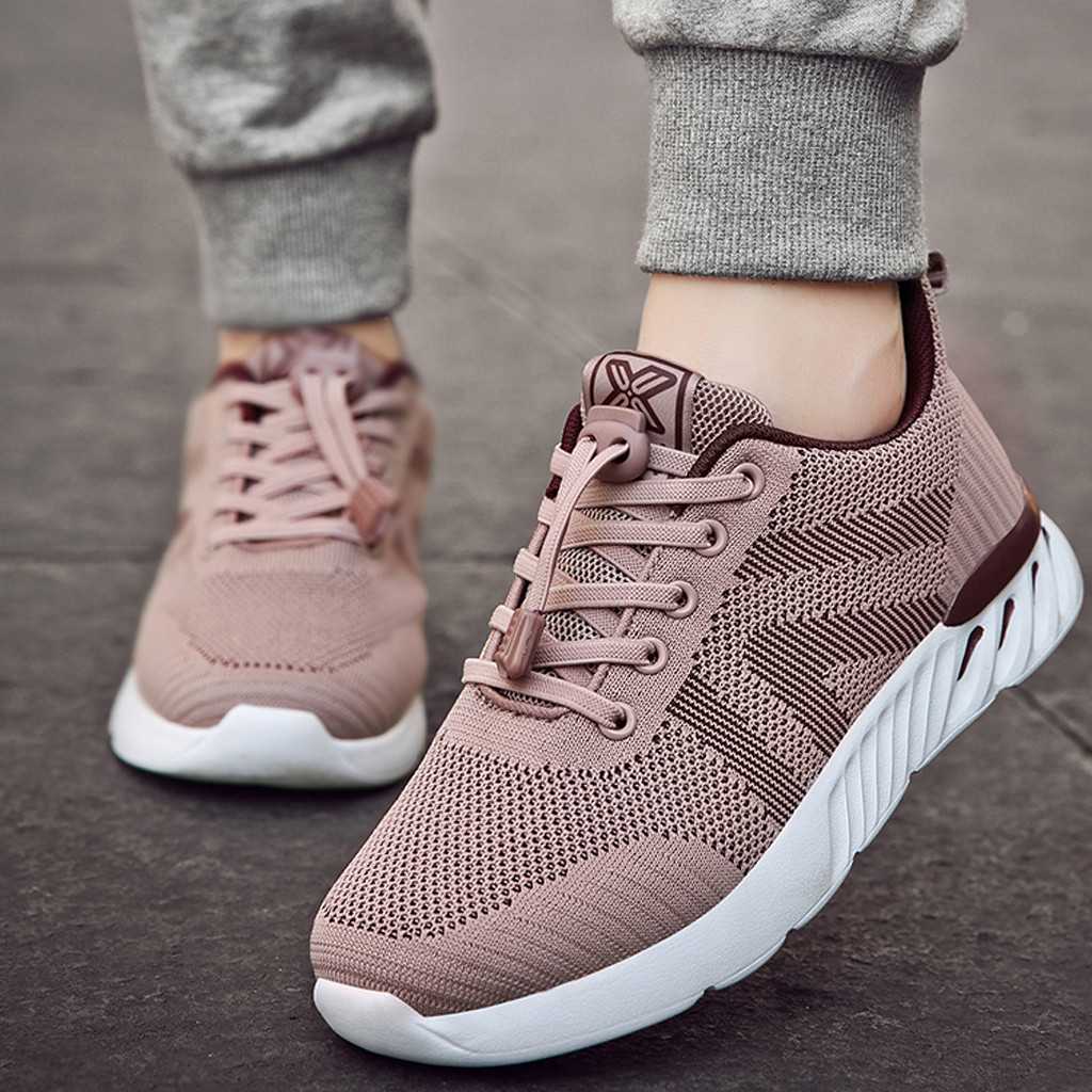 Hot Sale Tenis Feminino 2019 Brand Light Soft Sport Shoes Women Tennis Shoes Female Stability Walking Sneakers Trainers Cheap#G4