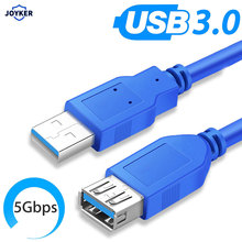 Cable de extensión USB 3,0, Cable de sincronización de datos macho a hembra, Cable de extensión USB, 1m, 3m, 5m