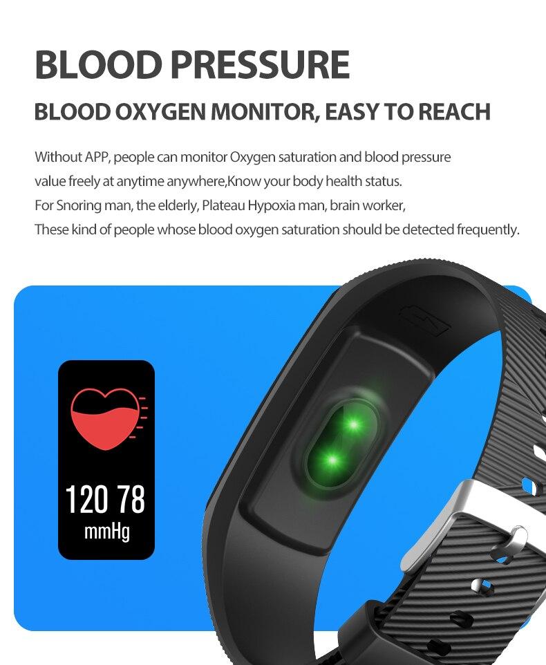 Mk1 pulseira inteligente ip67 à prova dip67