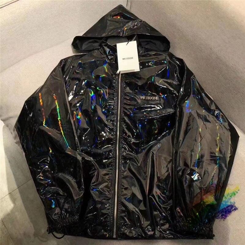 Reflective WE11DONE Jacket Men Women 1:1 High Quality Streetwear Windbreaker Coats WellDone Jackets