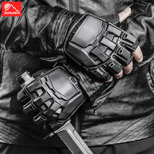 Climbing Fingerless Tactical Gloves Military Men Paintball Training Waterproof Outdoor Shooting Motorcycle Cycling