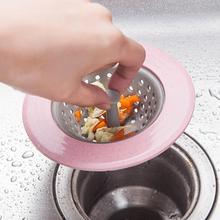 Силиконовая сетка ситечко для кухонной раковины для ванной комнаты раковина Крышка для дренажа раковина дуршлаг канализационные фильтры от волос фильтр для воды Кухня Аксессуары
