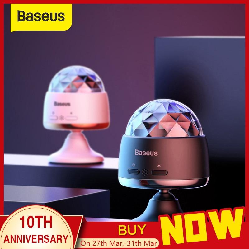 Baseus LED RGB Atmosphere Light Auto Interior Inner Car USB Charge Ambient Light DJ Music Sound Sensor Party Karaoke Lights