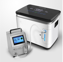 In lager 7L 90% Hohe konzentration de oxigeno Sauerstoff konzentrator zerstäubung Tragbare Medizinische ausrüstung Hause sauerstoff bar LCD