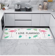 Anti-skid Entry Doormat Area Rug PVC Floor Mat Kitchen Bathroom Restroom Floor  Area Floor Mat Decor D20 vintage printing anti skid indoor outdoor area rug
