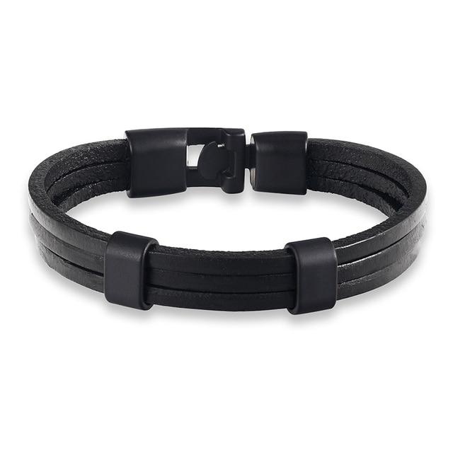 Купить горячая мода черный сплав мужской браслет высокое качество ретро