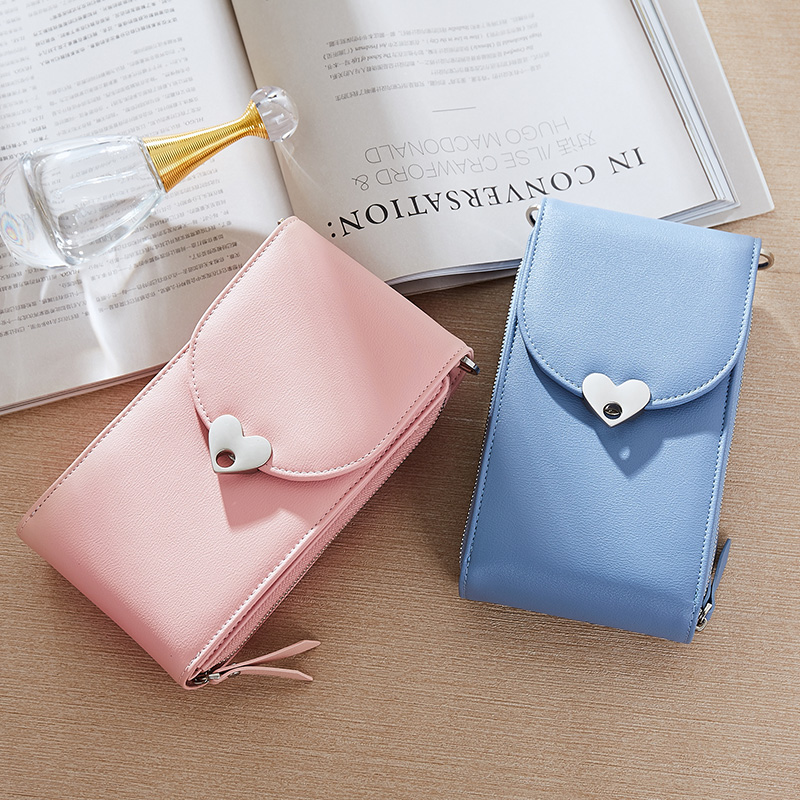 Crossbody Messenger Bags HandBag Waterproof Sling Purse Female shoulder fashion sweet Lady girl Woman Bag PU Leather pink white in Top Handle Bags from Luggage Bags