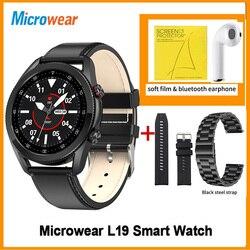 Смарт-часы Microwear L19, Bluetooth, водостойкие, IP68, ЭКГ, пульсометр