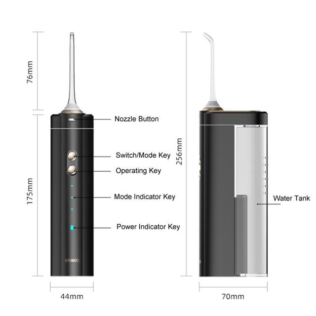 Беспроводной струйный Электрический ирригатор для полости рта