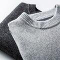 Лидер продаж, более толстые теплые свитера для мужчин, 100% козья шерсть, кашемир, вязаные пуловеры высшего качества, мягкие Джемперы, Мужская ...