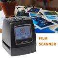 Портативный сканер с отрицательной пленкой  фотосканер с высоким разрешением 35/135 мм  слайд-сканер для пленочного цифрового преобразовател...