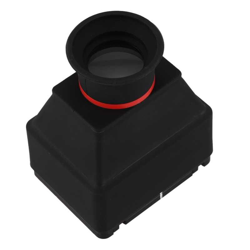Visor Lcd 3,2 pulgadas 3X lupa aumento ocular para Universal 3,2 pulgadas pantalla Dslr Cámara Goma