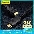 Кабель Baseus HDMI для Xiaomi Mi Box 48 Гбит/с цифровой для PS5 PS4 8K 2,1 4K 2,0 HDMI-совместимый сплиттер 8K/60Hz кабели