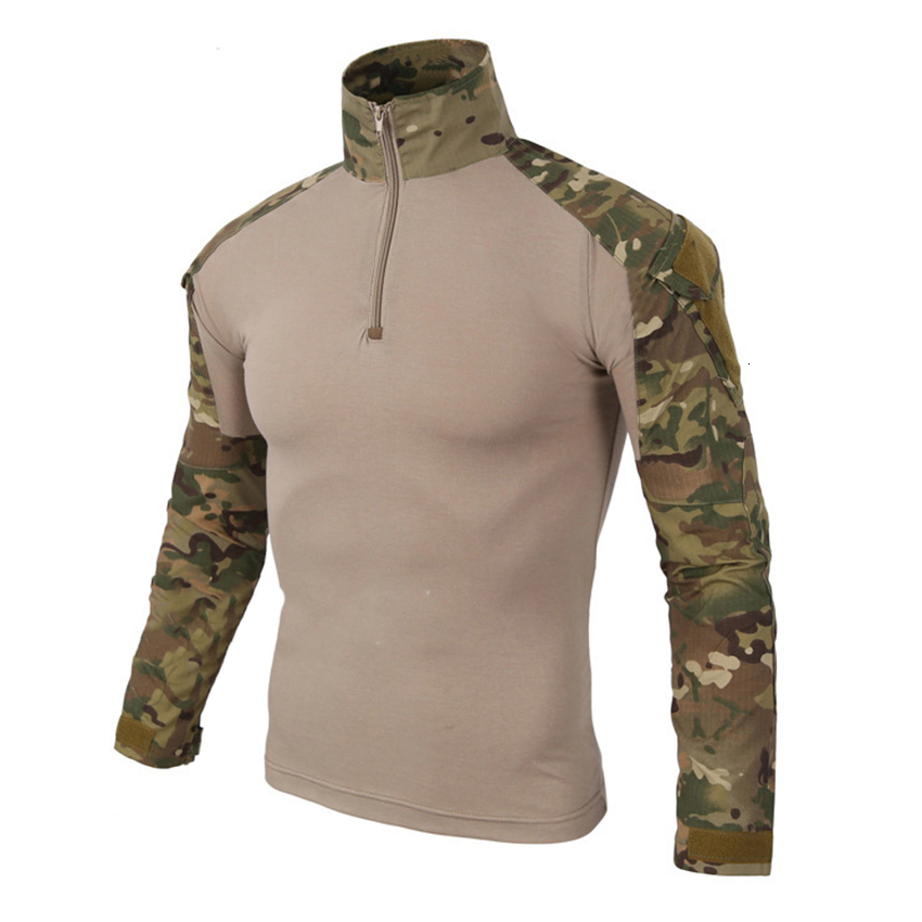 12 Colors Camouflage Tactical Clothing Military Shirts Men Army Military Uniform Combat-Proven Soldier Field Hunt Outwear