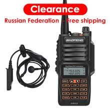 Najnowszy Baofeng UV 9R Plus Walkie Talkie wodoodporny 8W UHF VHF dwuzakresowy 136 174/400 520MHz Ham CB Radio nadajnik FM skaner