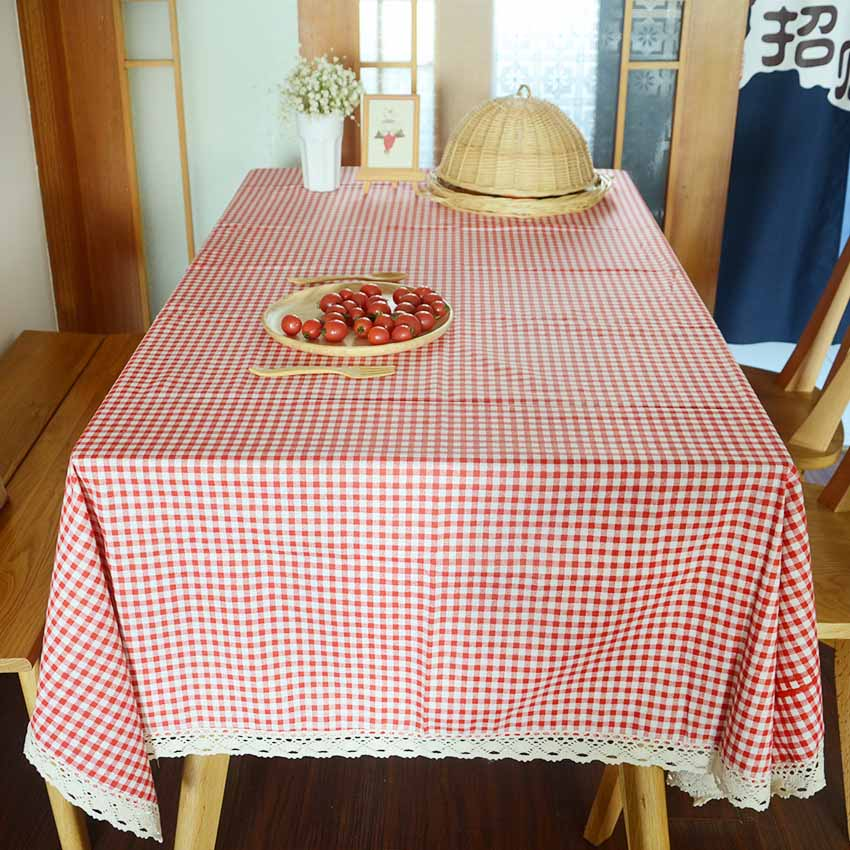 Rectangle Felt Tablecloth Runner Placemats Tea Table Mats Household Decorations 7 Colors Red