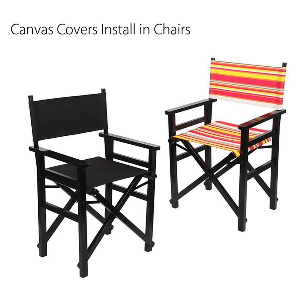 Awesome Us 7 56 41 Off Outdoor Directors Chair Seat Cover Replacement Canvas Chair Replacement Canvas Set Of Straight Leg Opp Bag Chair Cover On Aliexpress Caraccident5 Cool Chair Designs And Ideas Caraccident5Info