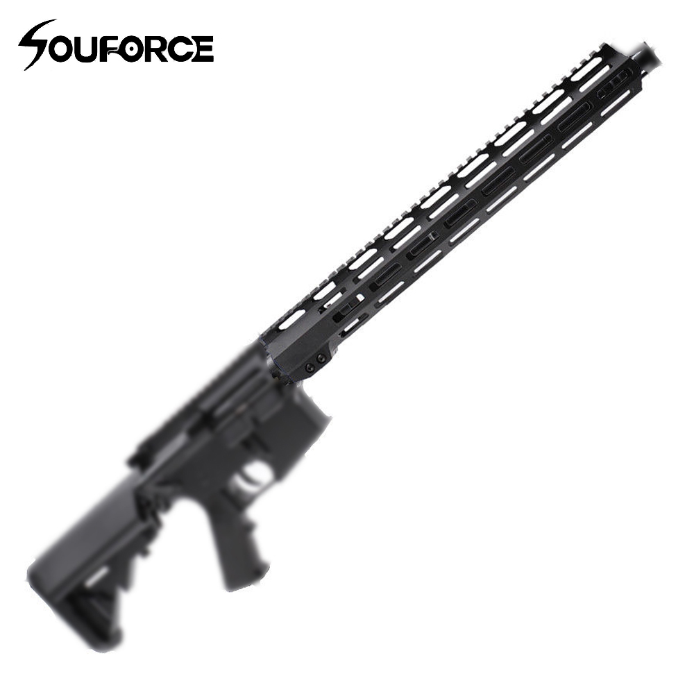US 7/9/10/13.5/15 Inches Ultralight Slim Free Float Handguard Rail Mount+Nuts Metal Gun Accessories For Hunting