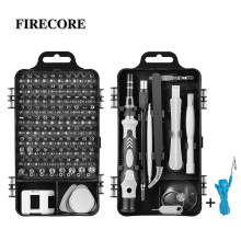 Firecore Driver Set 110 in 1 Precision Driver Set Repair Tool Multifunctional Driver With Magnet Abrasion Resistant