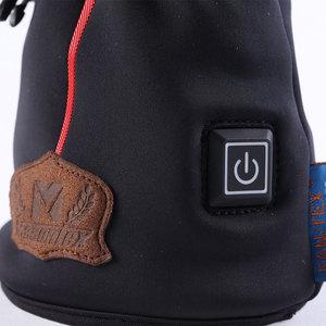 Image 4 - Masontex الشتاء قفازات للدراجات النارية التدفئة Guantes موتو قفازات USB تسخين كهربائي قفازات مع بطارية للتزلج ركوب M 2XL