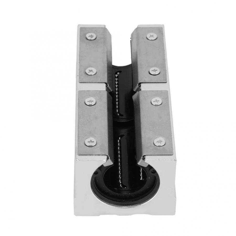 SBR25LUU Aluminum Open Type Linear Motion Bearing Slide Block 25mm