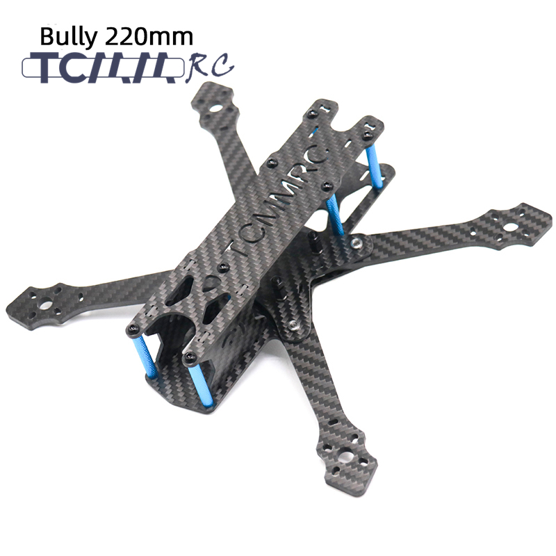 TCMMRC 5 Inch Drone-FPV-Frame Bully 220 Wheelbase 220mm Carbon Fiber Drone Frame For FPV Racing Drone