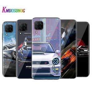 Cool Sports Car Comic for Huawei P40 P30 P20 P Smart S Z 2020 Lite 5G E Pro Plus 2019 Soft TPU Silicone Phone Case