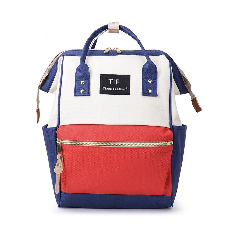 Модный рюкзак для подгузников для мам, Большая вместительная сумка для подгузников, водонепроницаемая сумка для подгузников, дорожная сумка для детских колясок - Цвет: RML
