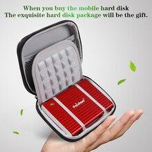 개인 맞춤형 외장형 하드 드라이브 스토리지 320G 500G USB3.0 1 테라바이트 2 테라바이트 750G HDD 휴대용 외장형 HD 하드 디스크 맞춤형 로고