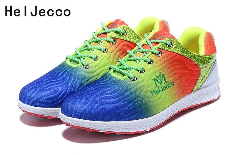 Sapatos de golfe sapatos femininos antiderrapantes resistente