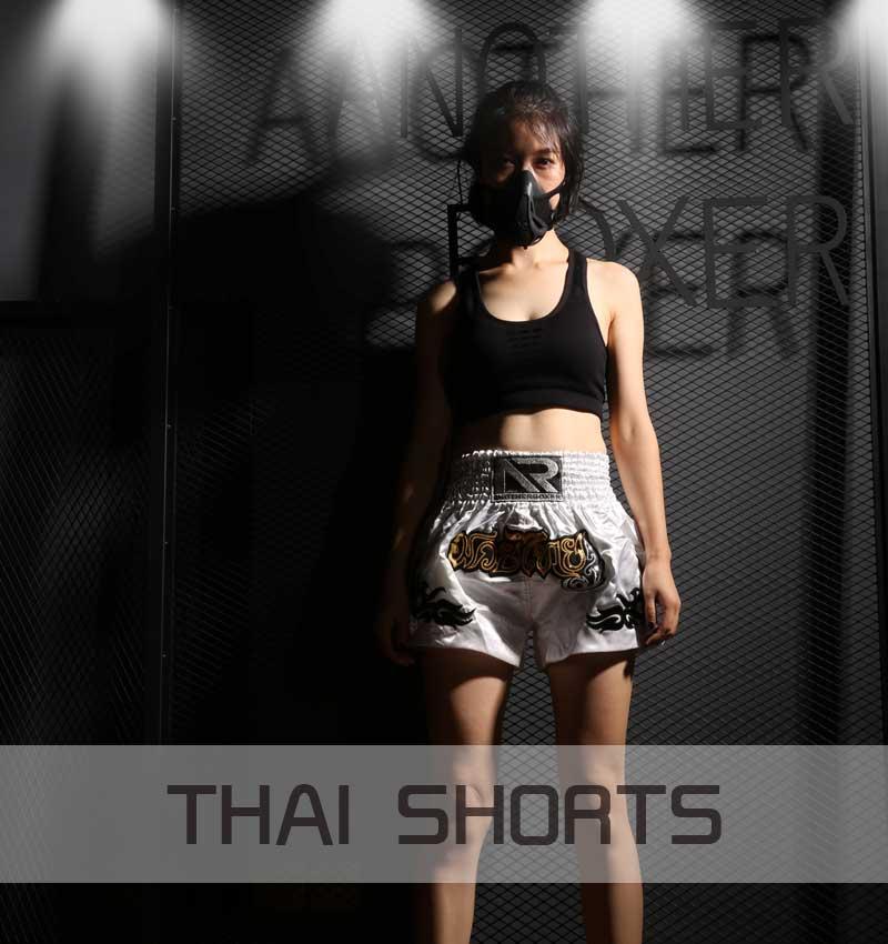 Muay thai shorts boxeo das mulheres dos