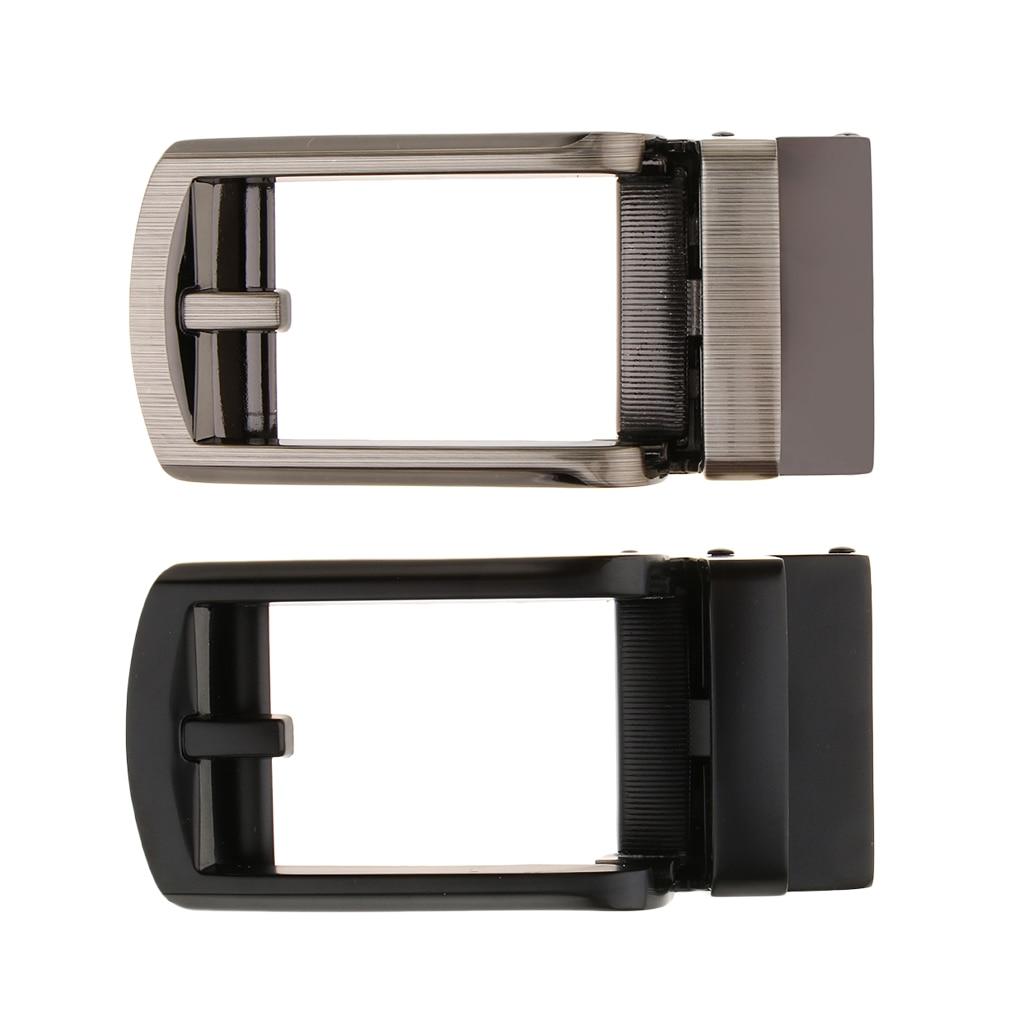 Automatic Metal Buckle Leather Ratchet Slide Belt Repair Parts Belt Accessory Men Metal Alloy Antique Belt Buckle