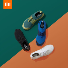 Xiaomi GTS Retro Flying Sneakers Football Mesh Shoes TPUS Lightweight Breathable Cushioning Comfortable Knitting Casual
